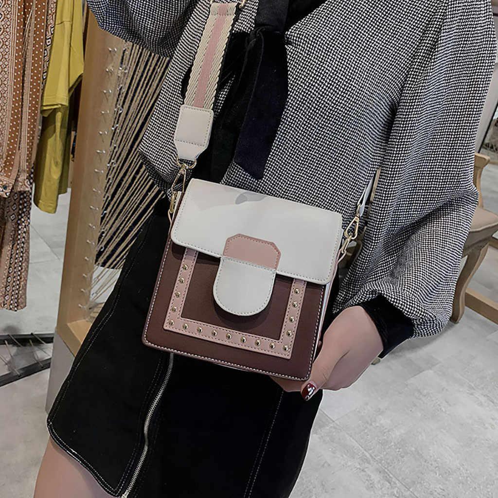 OCARDIAN Women Hangbags Solid Pattern Fashion Small Square Bag Small Flap Crossbody Bags Women Messenger Bag 932211