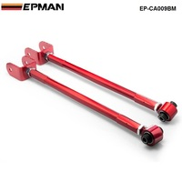 Adjustable Rear Lower Control Arm/Bar/Rod Camber Kit For 95 05 BMW E46/E36/Z4/M3 3 SERIES 3 Series Red EP CA009BM