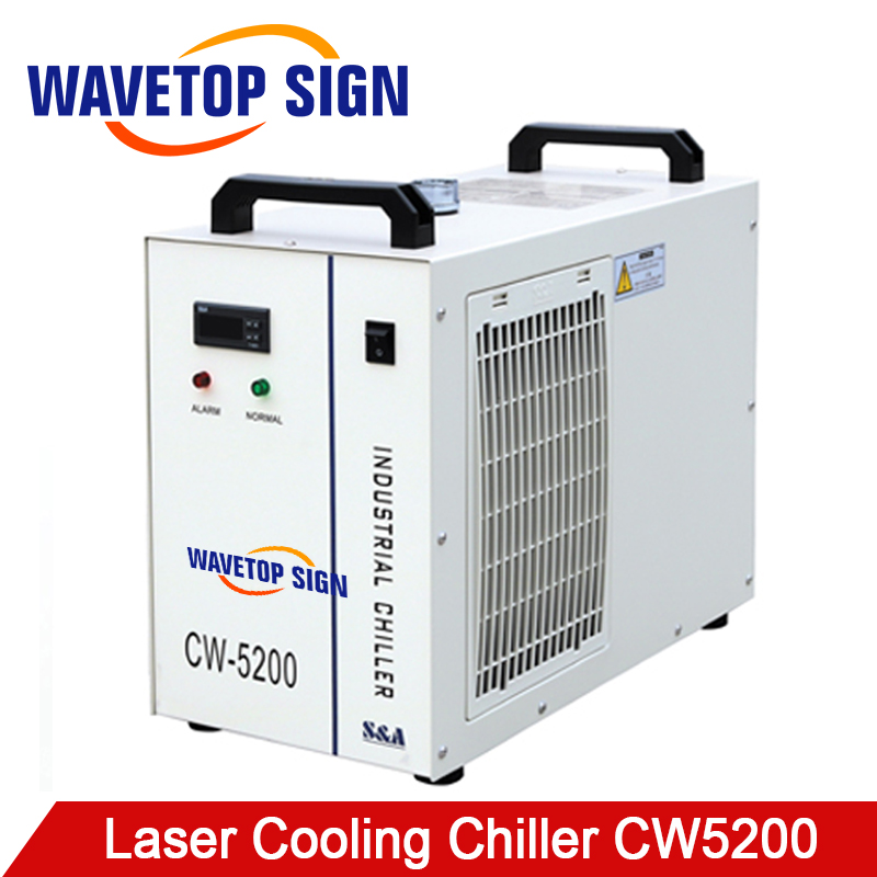 S&A CW5200 Industry laser chiller 80w 100w 130w Air Water Chiller laser co2 for CO2 Laser Engraving Cutting Machine laser fce teacher s book