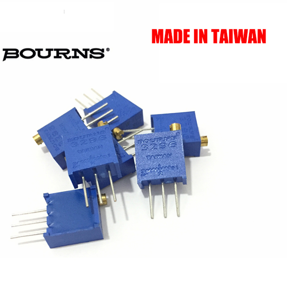 Free shipping 100pc original BOURNS potentiometer 3296W 10K 50K 100 K3296W-1-103LF multiturn trimming potentiometer