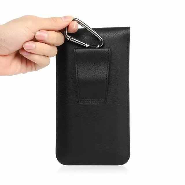 Asus ZenFone 3 için ZE520KL/ZE552KL/Max ZC520TL/Lazer ZC551KL/Kılıf Evrensel Kılıf Kapak Taşınabilir bel kemeri kanca Döngü