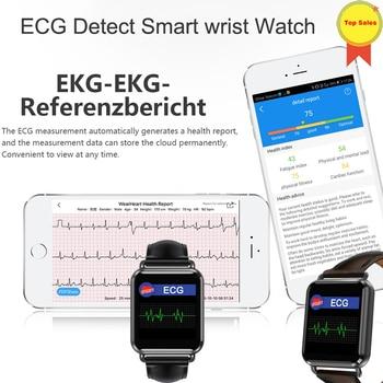 Smart Watch ECG Sports Watch ECG+PPG ECG HRV Report Heart Rate Blood Pressure Test call MSM push IP67 Waterproof Smart Wristband