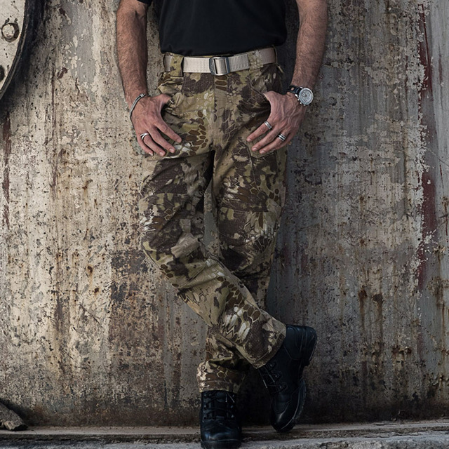 MEGE Brand Tactical Camouflage Military Casual Combat Cargo Pants Water Repellent Ripstop Men's 5XL Trousers  Spring Autumn 58