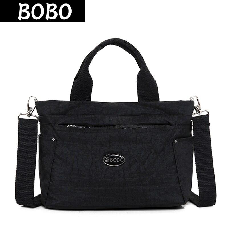 Detail Feedback Questions about BOBO Waterproof Nylon Women Handbags for  Women Messenger Bags Female Shoulder Bag Small Ladies Crossbody Bags Casual  Tote ... fcfcaec1ae9f2