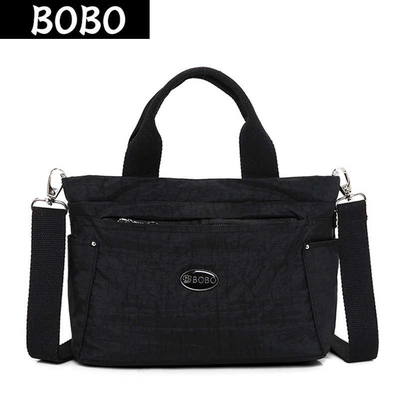044632c14c Detail Feedback Questions about BOBO Waterproof Nylon Women Handbags ...