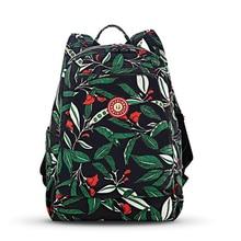 Модные женские туфли рюкзак с принтом нейлон дамы мешок Обувь для девочек студенческие подросток школьная сумка Высокое качество многофункциональная сумка саквояж