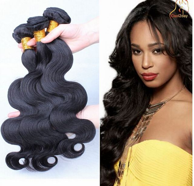 Brazilian Virgin Human Hair Body Wave Remy Hair Extension  Weave 3pcs/Lot 100g/ps 300G/Weft