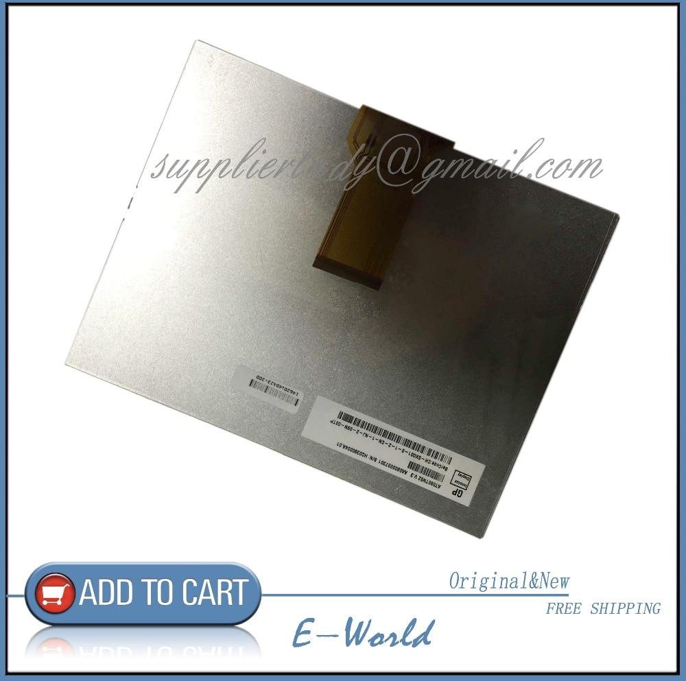 Original 8inch LCD screen AT080TN52 V.3 for Car DVD free shipping