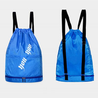 Swimming bags Drawstring Beach Bag Sport Gym Waterproof Backpack Combo Dry Wet Bag Swim Women Men