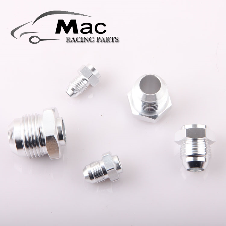-6 AN 6 AN AN6 MALE MILD aluminum weld on fitting adapter