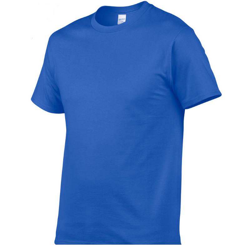 2018 Di Estate Nuovi Uomini Di Alta Qualità T Shirt Casual Manica Corta O-collo 100% Cotone T-shirt Da Uomo Di Marca Bianco Nero Tee Camicia Moda Attraente