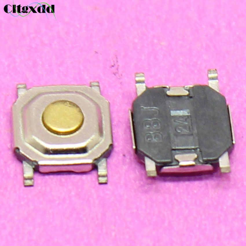 Cltgxdd 1〜100ピース4*4*1.5ミリメートル4ピンライトタッチオン/オフスイッチ4ピン4 × 4 × 1.5 h smd触覚プッシュボタンスイッチタクトマイクロスイッチ
