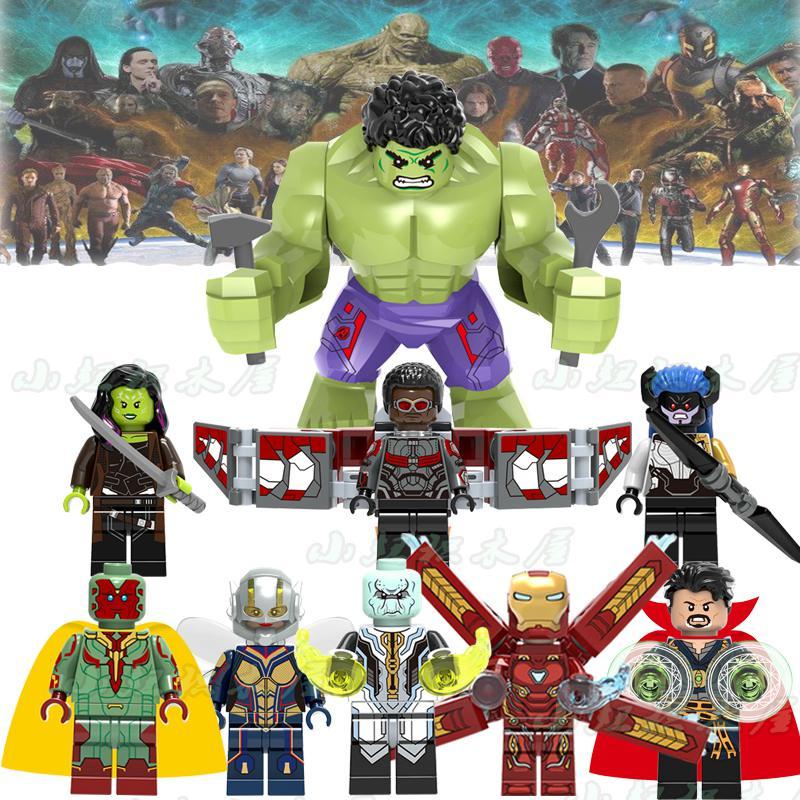 90 piezas Marvel Superhéroes Thanos Spider man Iron Man vengadores 3 Infinity War modelo bloques de construcción juguetes kit figuras-in Bloques from Juguetes y pasatiempos    1