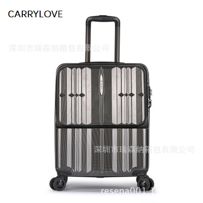 CARRYLOVE  PC 20 Front computer bag Rolling Luggage Multifunction business suitcase universal wheel suitcaseCARRYLOVE  PC 20 Front computer bag Rolling Luggage Multifunction business suitcase universal wheel suitcase