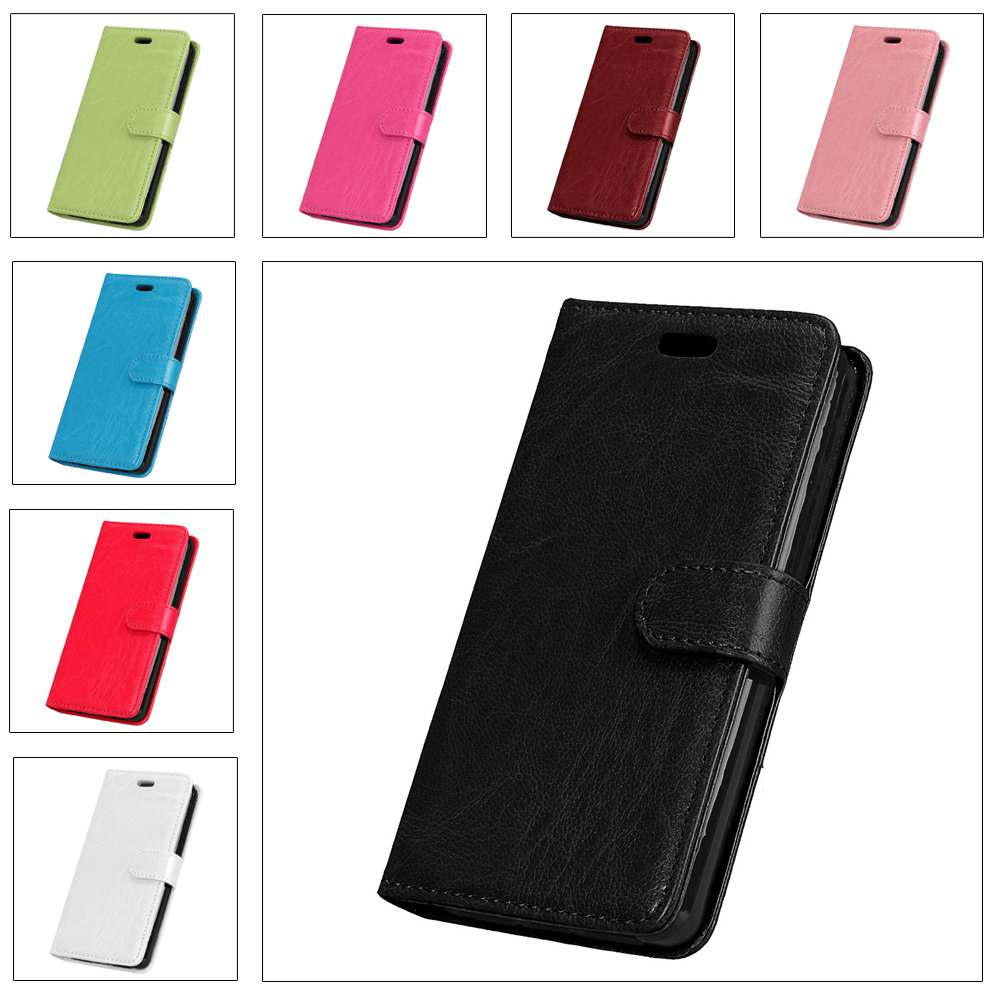 Galleria fotografica Flip PU Leather Case For Samsung Galaxy J3 2016 J320 3 Card Wallet Cover For Samsung Galaxy J3 2015 J320F Stand Magnetic Shells