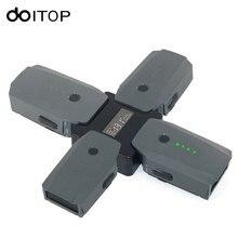Doitop 4 в 1 Батарея стюард параллельно зарядная станция для dji Мавик Pro Drone цифровой Дисплей Зарядное устройство Док-станция для DJI MAVIC Pro #