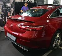 PAINT CAR REAR WING TRUNK LIP SPOILER FOR 17 18 Benz W213 E200/E200/E300 E class 2Door Coupe 2016 2017 2018 BY EMS