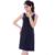 2016 nova mulheres Casual Plus Size Built In Bra camisola O pescoço sala 100% algodão Sleepwear vestido de verão frete grátis WI376
