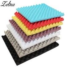 Hot New 500x500x50mm Soundproofing Foam Studio Acoustic Foam Soundproof Absorption Treatment Panel Tile Wedge Sponge Foam