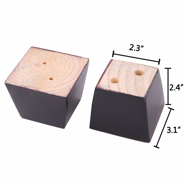 2 4 universal wooden sofa leg install screw easily no drill hole rh aliexpress com ikea wood sofa legs wood couch legs
