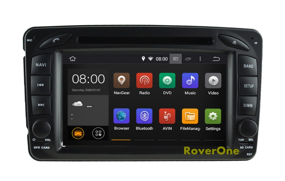 For <font><b>Mercedes</b></font> CLK350 CLK500 CLK55 W168 <font><b>A140</b></font> A160 A170 A190 Android 8.1 Autoradio Car DVD Radio Stereo GPS Navigation Multimedia image