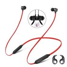Auriculares inalámbricos con Bluetooth, dispositivo resistente al agua, para el cuello con banda magnética, para Xiaomi Meizu Huawei