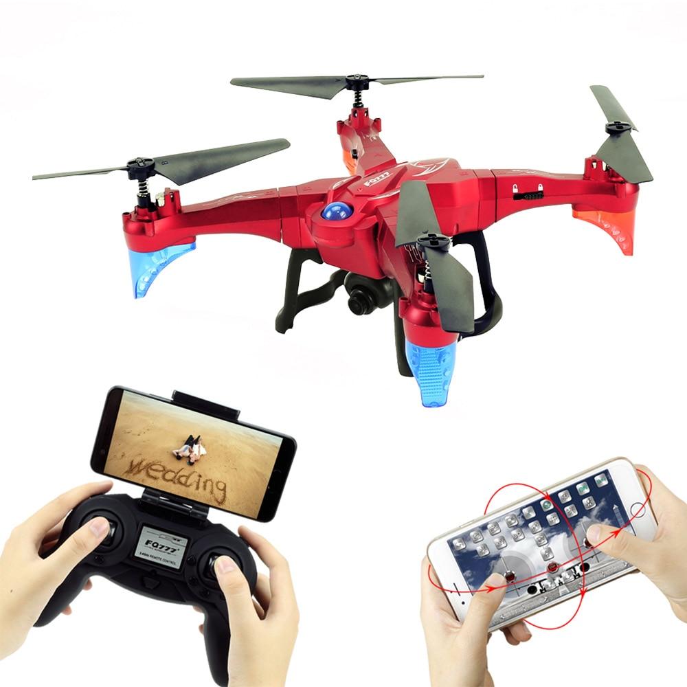 Original FQ777 FQ20W 2.4G Wifi FPV 2.0MP Camera Detachable Arm Altitude Hold RC Quadcopter