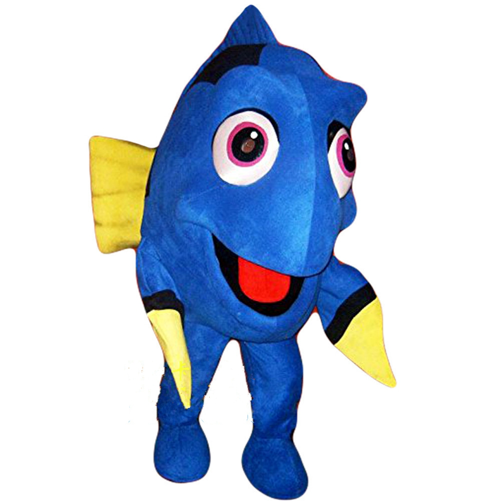 Dory Nemo Fish mascot costume Cartoon Character Costumes Mascot cosplay theme mascotte carnival costume Christmas Party Suit
