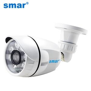 Image 1 - Smar 720 p 1080 p ahd câmera ampla visão ahdh câmera de segurança ao ar livre à prova dwaterproof água com 36 pcs leds infravermelhos dia & noite vigilância