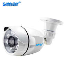 Smar 720P 1080P AHD 카메라 와이드 뷰 AHDH 보안 카메라 야외 방수 36PCS 적외선 led 주야간 감시