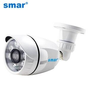Image 1 - Smar 720P 1080P AHD 카메라 와이드 뷰 AHDH 보안 카메라 야외 방수 36PCS 적외선 led 주야간 감시