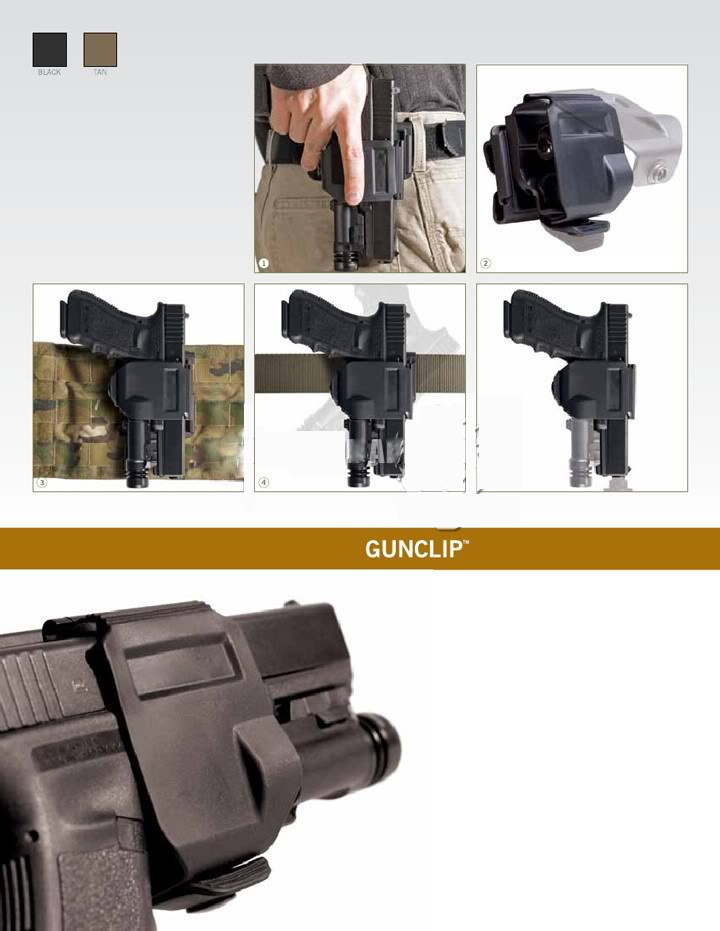 CP style models holster For GLOCK 17192223 Tactical Airsoft Paintball Hunting Shooting Roto Right-Handed Gun Clip Holster (5)