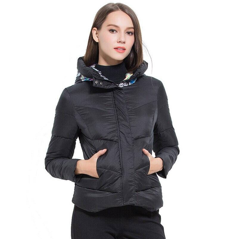 ФОТО New 2016 down ultra light down jackets women autumn winter jacket coat female down jacket parka w-038