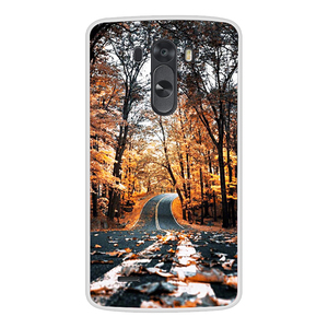 Image 4 - Phone Case For LG G3 Soft Silicone TPU Cute Cat Flower Painted Back Cover For LG G3 D850 D851 D855  Case