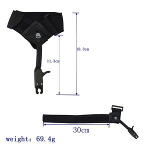 Image 3 - 1 pinza negra de liberación, accesorios para caza, tiro, flecha, correa de liberación de muñeca utilizada para arco compuesto