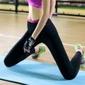2016 женщины леди тонкий брюки Фитнес Леггинсы активные леггинсы Y25031