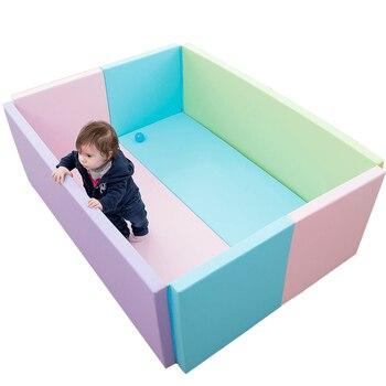 3bf0afdfbe La UE UPS barco No impuestos bebé cerca con alfombra engrosamiento interior  anti-caída de seguridad del bebé alfombra cerca de 50 cm