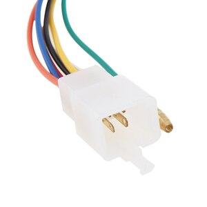 Image 3 - Uniwersalny czerwony LED cyfrowy wskaźnik biegów wyświetlacz motocykla dźwignia zmiany biegów czujnik 5 biegów wskaźnik zmiany biegów