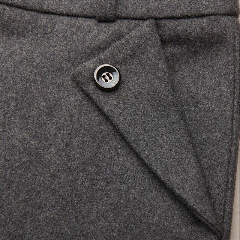 blue Plus Femmes W1302 De 3xl S Taille Black red Mode rose Et Laine green Bureau Pantalons D'hiver La Pour Épaissir Red Automne Pantalon grey Droit pqH55nIxzT