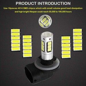 Image 2 - Gtinthebox luces antiniebla de coche, bombillas led H27 880 881, bombillas de repuesto para luces antiniebla de coche, lámparas de conducción, blanco, rojo, azul, azul hielo, amarillo