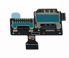 Mobile Parts Original Sim Card Holder For Samsung Galaxy S4 mini I9190 I9152 I9195 s4 mini