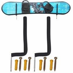 Сноуборд настенная стойка для хранения сноуборда настенное крепление-20 см высокая посадка большинства досок