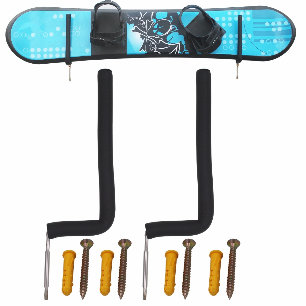 Snowboard Wall Storage Rack Snowboard Wall Mount 20 CM High Fit most Boards