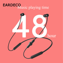 EARDECO Sport Wireless Headphones Heavy Bass Bluetooth Earphone Headphone for Phone Wireless Earphones Headset with Mic Music bass earphone headphone wireless bluetooth headphones with mic sport headset earpiece for phone ecouteur sans fil dt100