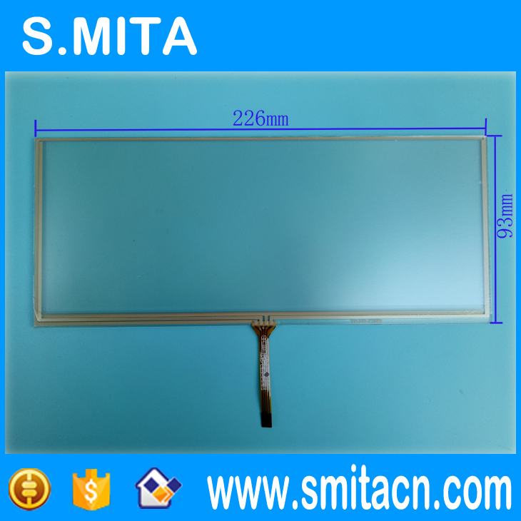 Replacement for BMW 8.5 Inch resistive touch screen navigation screen handwritten touch screen 226*93mm replacement 3 touch screen for nikon s4000 s4100 s4150 s6100 s6150