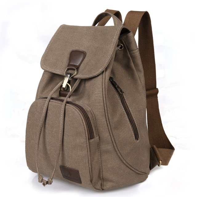 8adeb7f94fe8 new fashion canvas backpacks Large capacity casual women backpack Casual  retro style school backpack good quality