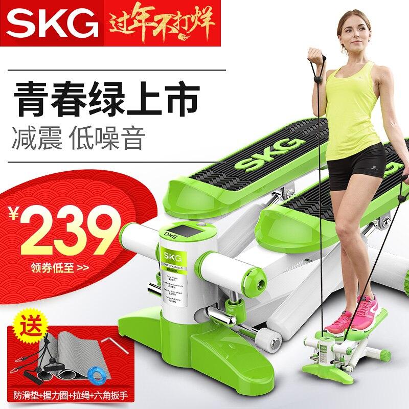Skg степпер многофункциональный ножной аппарат дымоход для похудения фитнес-оборудование немой бытовой беговой дорожке