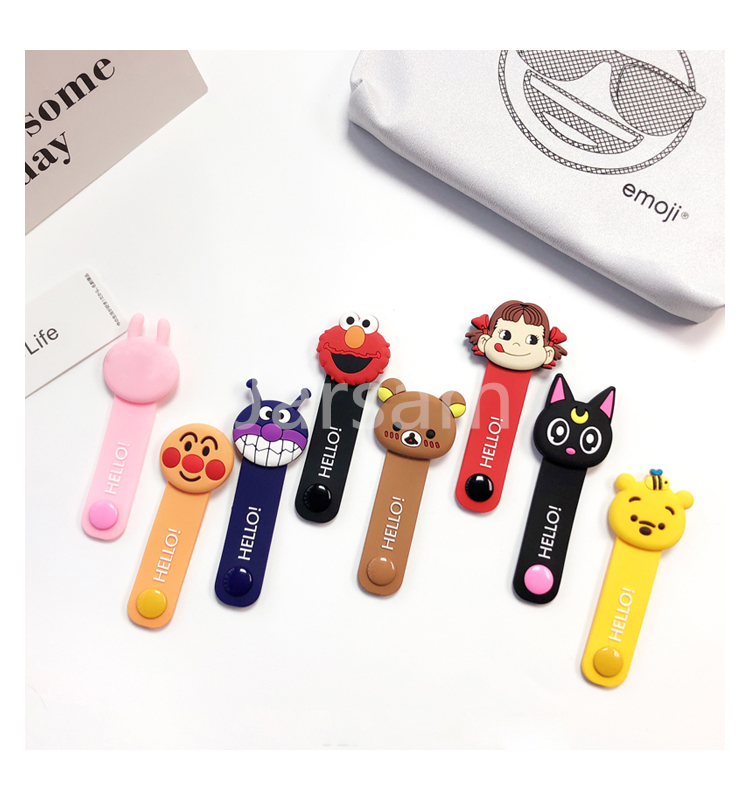 HTB1.1USc8Cw3KVjSZFlq6AJkFXam Cartoon Cable Protector Data Line Cord Protector Protective Case Cable Winder Cover For iPhone USB Charging Cable For iPhone xr