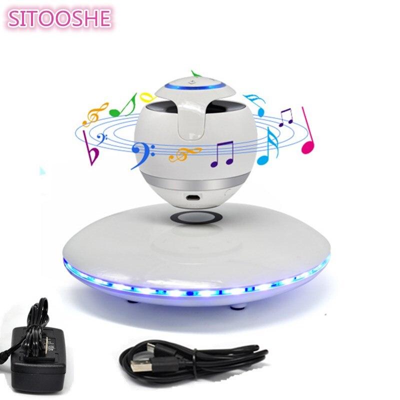 SITOOSHE Sans Fil Bluetooth Haut-Parleur Portable Soundbar Tronsmart Subwoofer Magnétique Suspension Haut-parleurs Boombox caixa de som