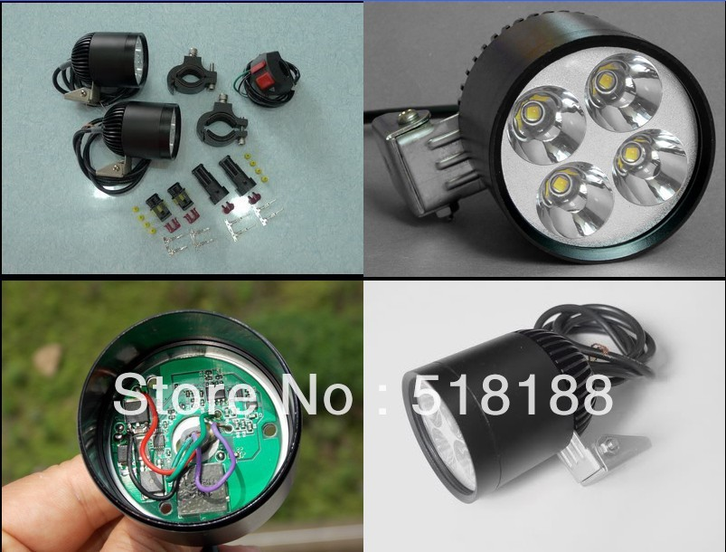 LDDCZENGHUITEC New Waterproof led motorcycle headlight HID 12V chip XML U2 4 LED Spotlight with automatic dimming function&fast sitemap 38 xml